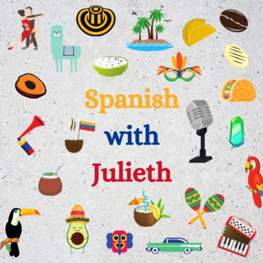 Cover art for podcast Spanish with Julieth