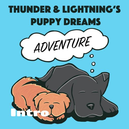 Cover art for podcast Intro - Thunder and Lightning's Puppy Dreams for Kids
