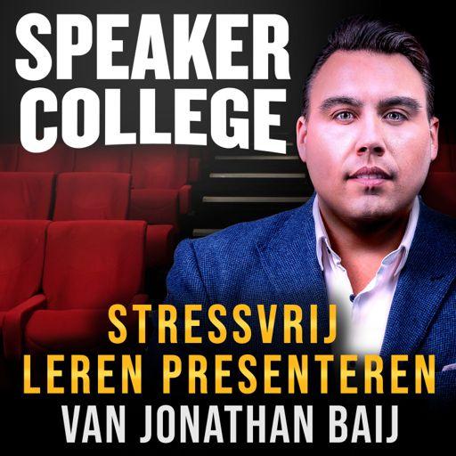 Cover art for podcast Speaker College van Jonathan Baij