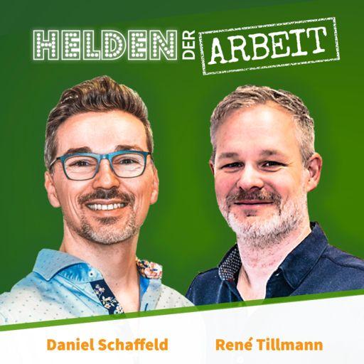 Cover art for podcast Helden der Arbeit - wie werden wir 2030 arbeiten? Der Future-of-Work-Podcast von Daniel und René