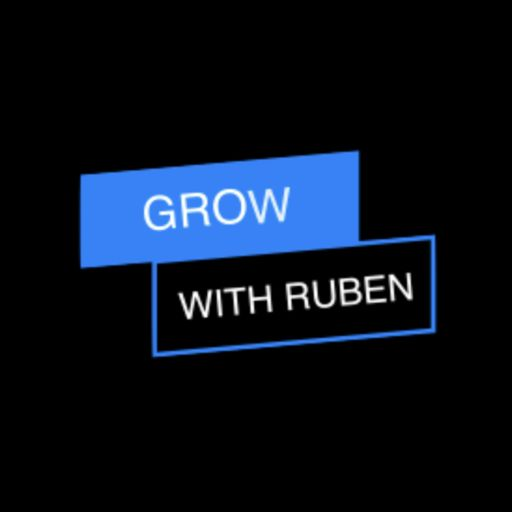 Cover art for podcast Grow With Ruben