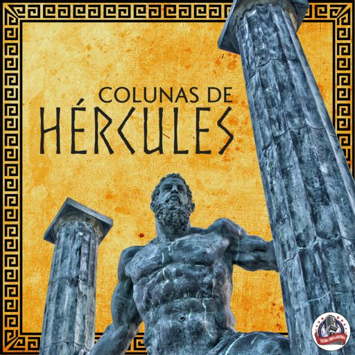 Cover art for podcast Colunas de Hércules
