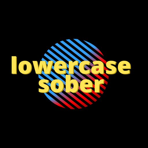Cover art for podcast lowercase sober
