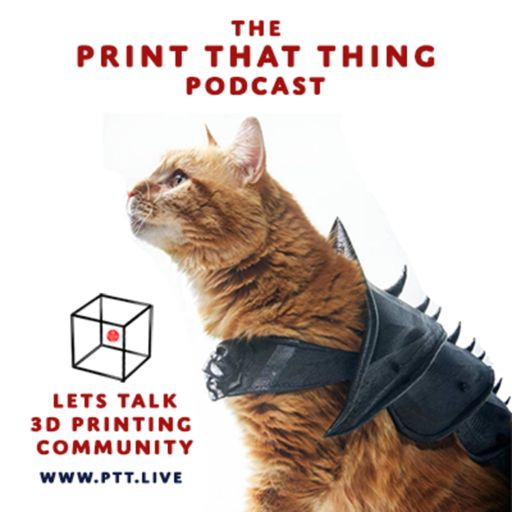 Cover art for podcast Print That Thing Podcast