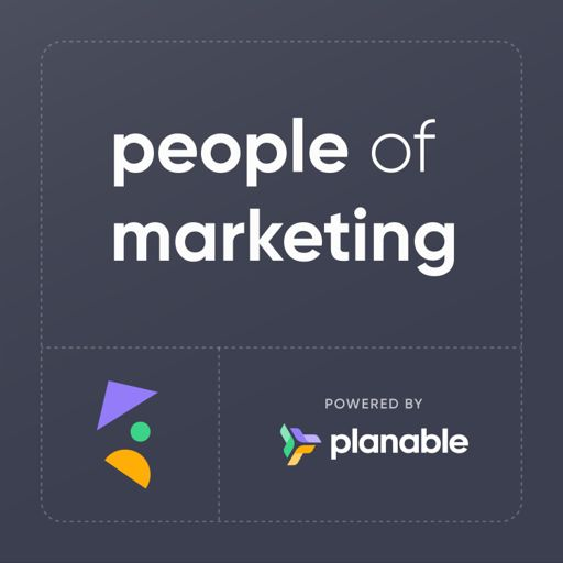Cover art for podcast People of Marketing by Planable