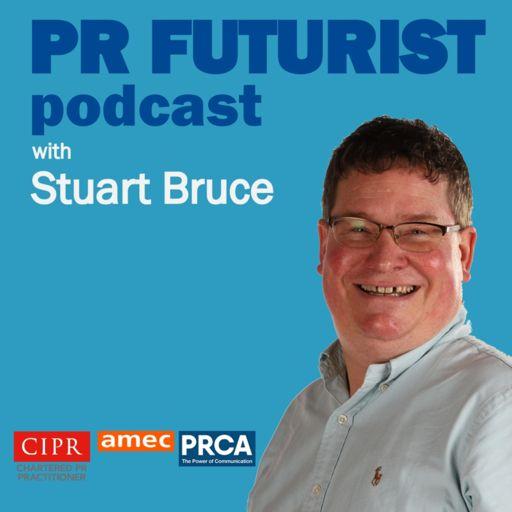 Cover art for podcast PR Futurist