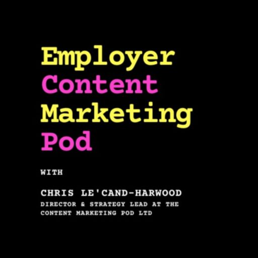 Cover art for podcast Employer Content Marketing Pod
