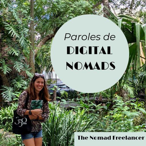 Cover art for podcast PAROLES DE DIGITAL NOMADS