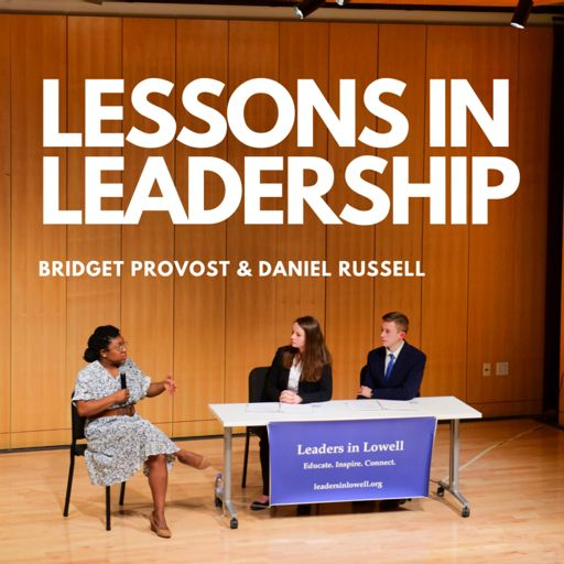 Cover art for podcast Lessons in Leadership