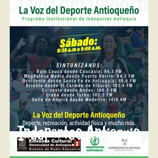 Cover art for podcast Indeportes Antioquia - Radio