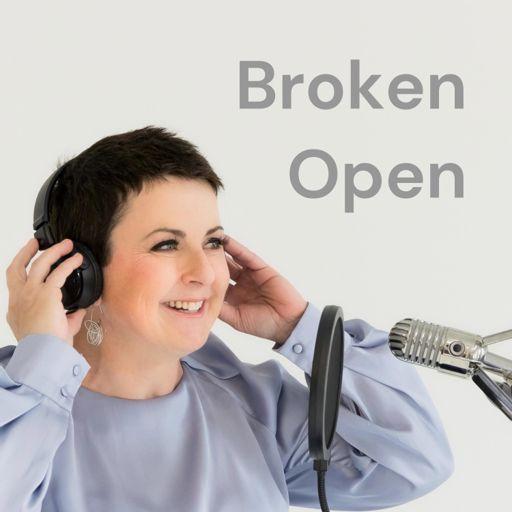 Cover art for podcast Broken Open: the podcast