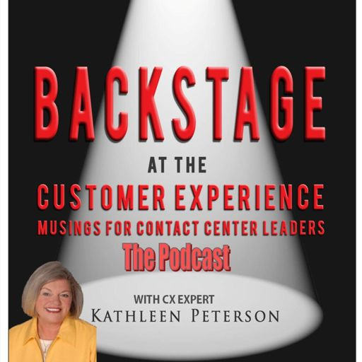Cover art for podcast Backstage at the Customer Experience