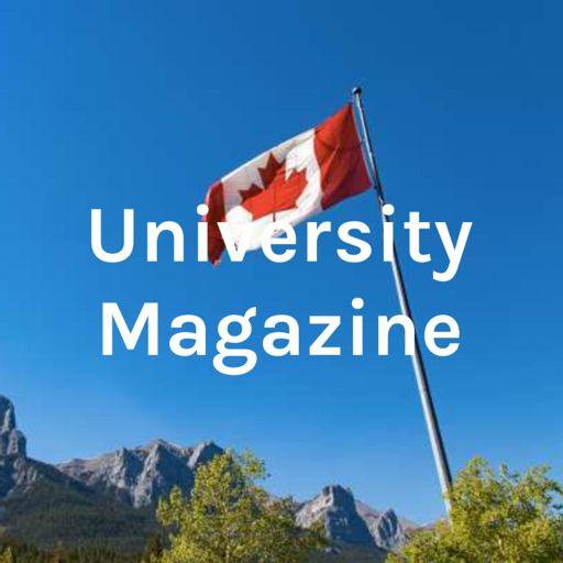 Cover art for podcast University Magazine