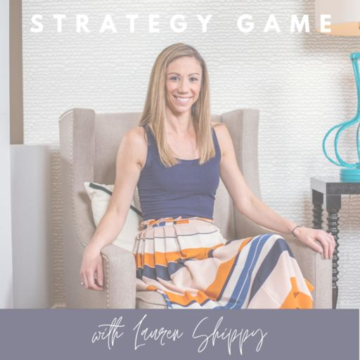 Cover art for podcast Strategy Game with Lauren Shippy