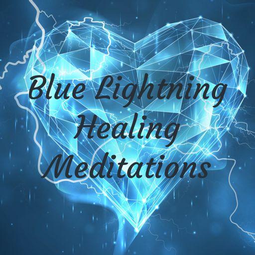 Cover art for podcast Blue Lightning Healing Meditations