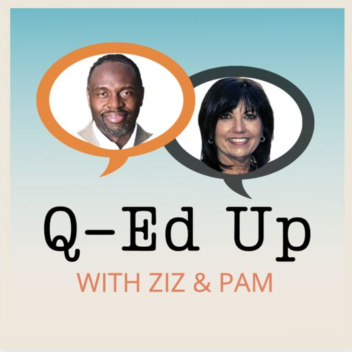 Cover art for podcast Q-Ed Up With Ziz & Pam
