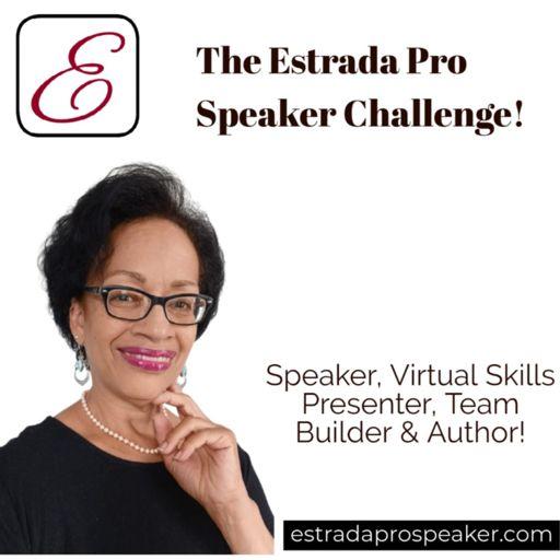 Cover art for podcast The Estrada Pro Speaker Challenge!