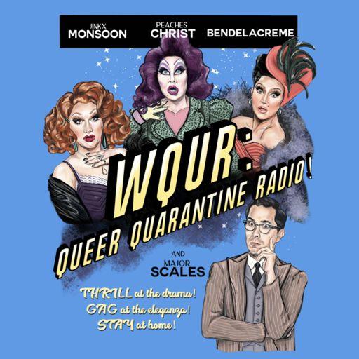 Cover art for podcast WQUR: Queer Quarantine Radio