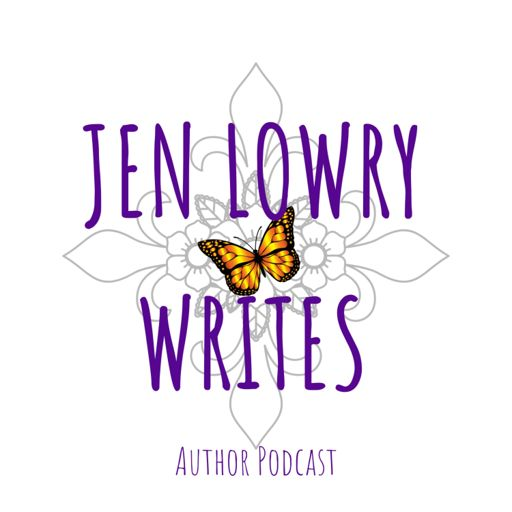 Cover art for podcast Jen Lowry Writes - Authors and Readers Together