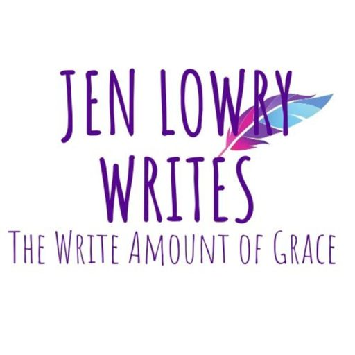 Cover art for podcast Jen Lowry Writes - The Write Amount of Grace
