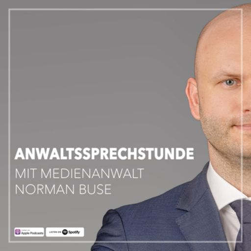 Cover art for podcast Anwaltssprechstunde - Der Rechtspodcast