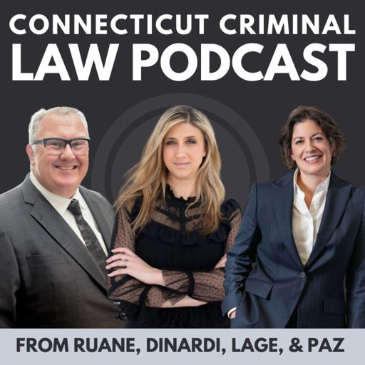 Cover art for podcast Connecticut Criminal Law Podcast