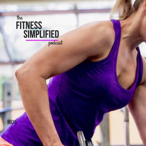 Cover art for podcast Fitness Simplified with Kim Schlag