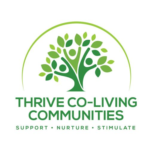 Cover art for podcast Thrive Co-Living Podcast