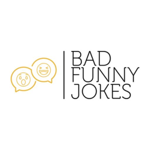 Cover art for podcast Bad Funny Jokes