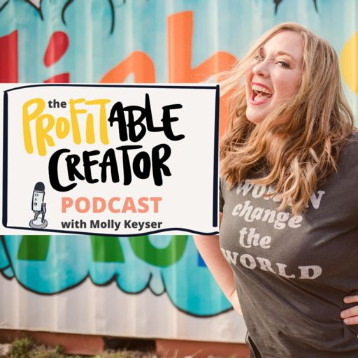 Cover art for podcast Profitable Creator Podcast