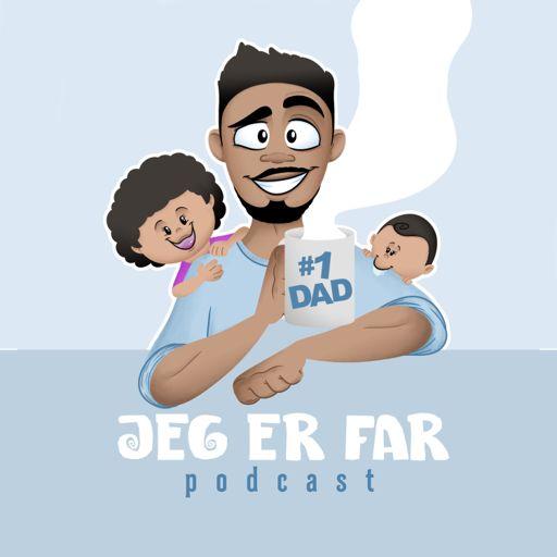 Cover art for podcast Jeg er far - Podcast