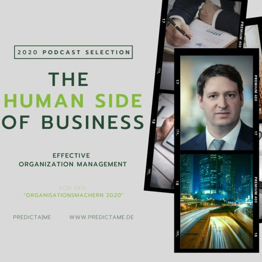 Cover art for podcast The Human Side of Business - Effective Organization Management