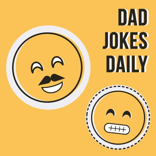 Cover art for podcast Dad Jokes Daily