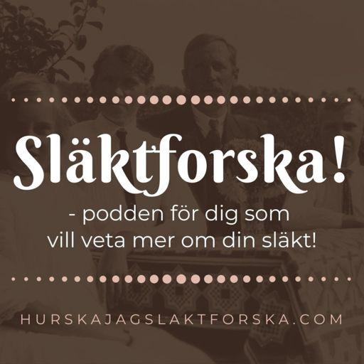 Cover art for podcast Släktforska!