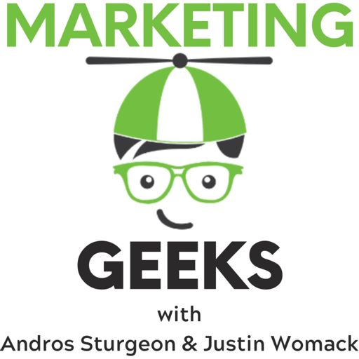 Cover art for podcast Marketing Geeks