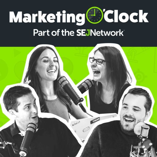 Cover art for podcast Marketing O'Clock - Your Weekly Digital Marketing News Podcast