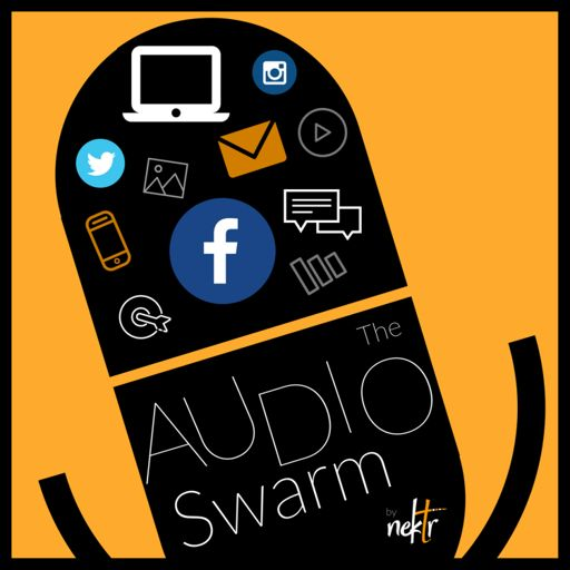 Cover art for podcast The Audio Swarm by Nektr Digital Marketing