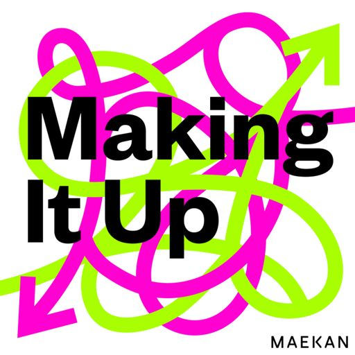 Cover art for podcast Making It Up