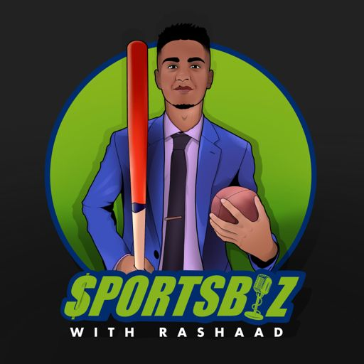 Cover art for podcast SportsBiz with Rashaad