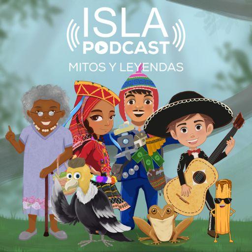 Cover art for podcast ISLA MITOS Y LEYENDAS