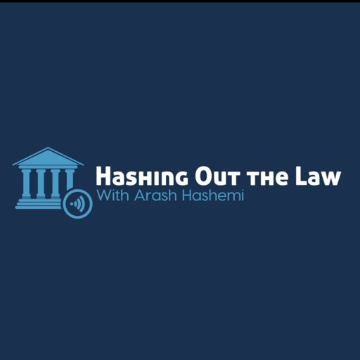 Cover art for podcast Hashing Out the Law