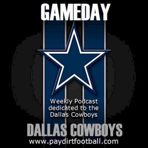 Cover art for podcast Gameday with the Dallas Cowboys