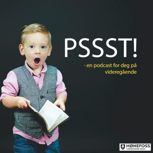 Cover art for podcast PSSST! En rådgiverpodcast fra Hønefoss videregående skole