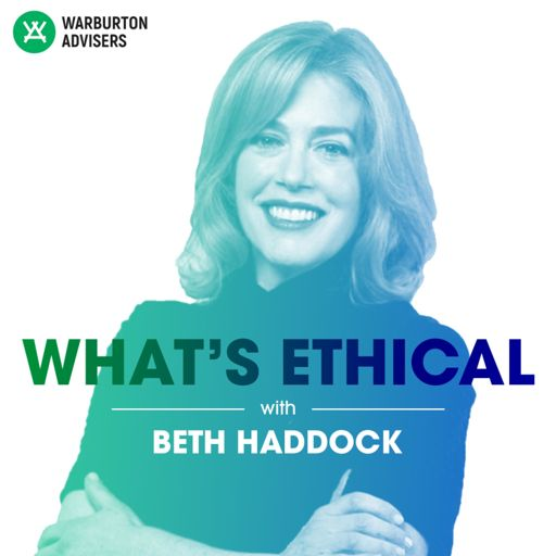 Cover art for podcast What's Ethical with Beth Haddock