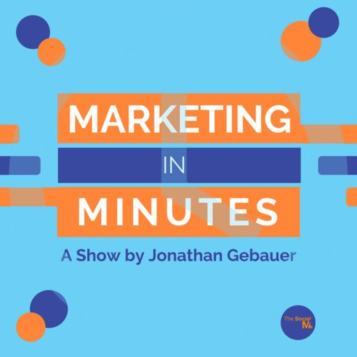 Cover art for podcast Marketing in Minutes