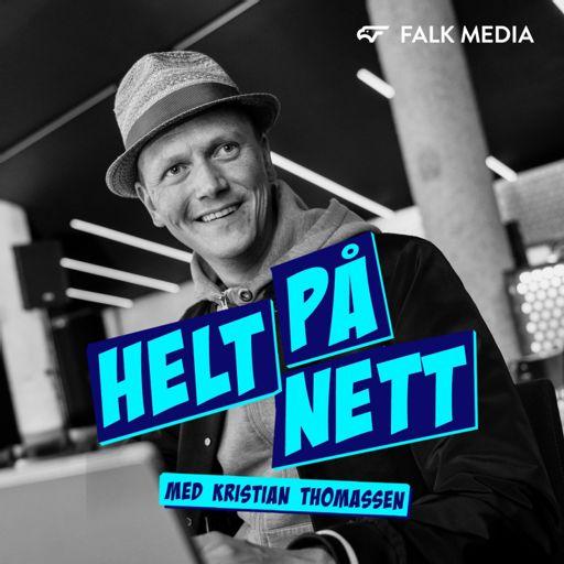 Cover art for podcast Helt på Nett - sosiale medier og kommunikasjon med Kristian Thomassen