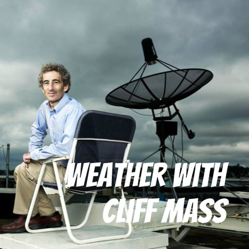 Cover art for podcast Weather with Cliff Mass