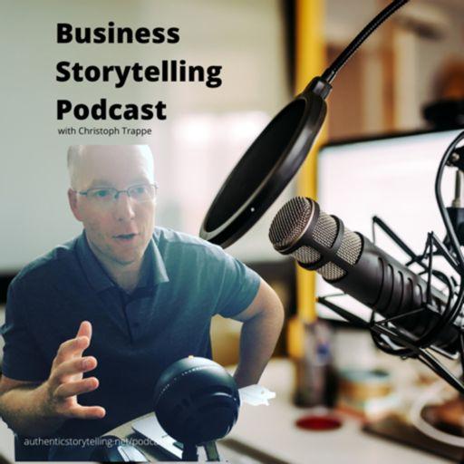 Cover art for podcast Business Storytelling Podcast