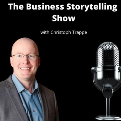 Cover art for podcast The Business Storytelling Podcast