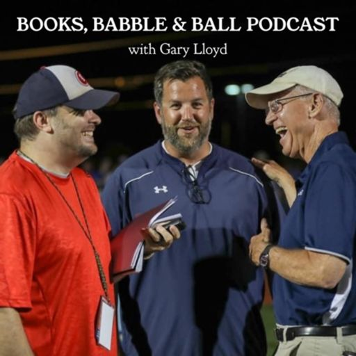 Cover art for podcast Books, Babble & Ball Podcast